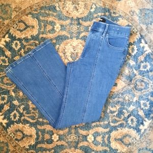 Express High Waisted Bell Flare Jeans 4P